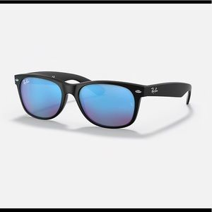 Ray-Ban RB2132 New Wayfarer Blue Flash Sunglasses